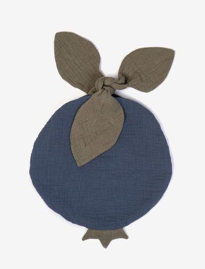 Fruit bag blueberry - fopspeen deken - blue