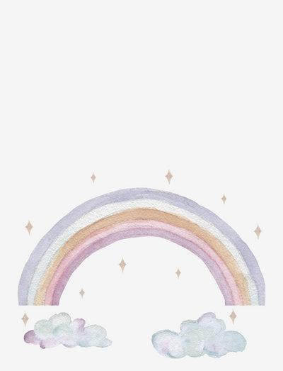 Wall Sticker Fairy rainbow - wall stickers - pastel