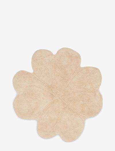 Shell rug clover large - Eucalyptus - teppiche - eucalyptus