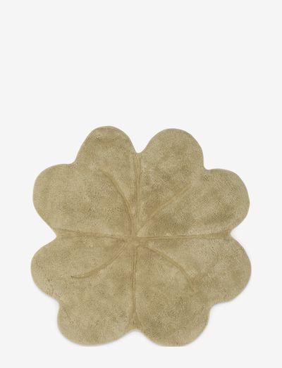 Shell rug clover large - Pistachio Shell - teppiche - pistachio shell