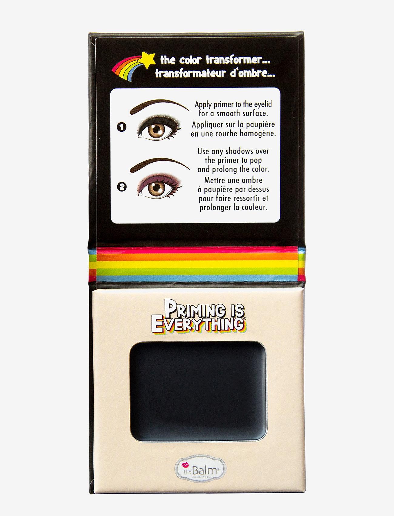The Balm - PRIMING IS EVERYTHING® Eyeshadow Primer - Ögonprimer - black primer - 0
