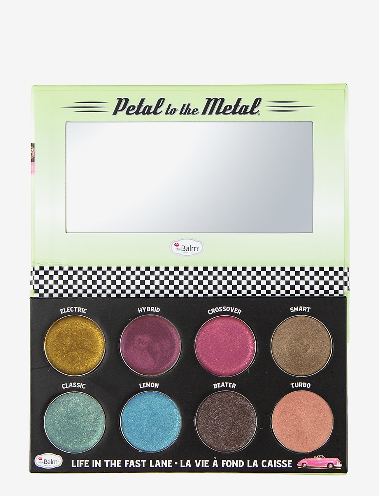 The Balm - PETAL TO THE METAL® SHIFT INTO OVERDRIVE Cream Eyeshadow - Øjenskyggepalet - overdrive - 0