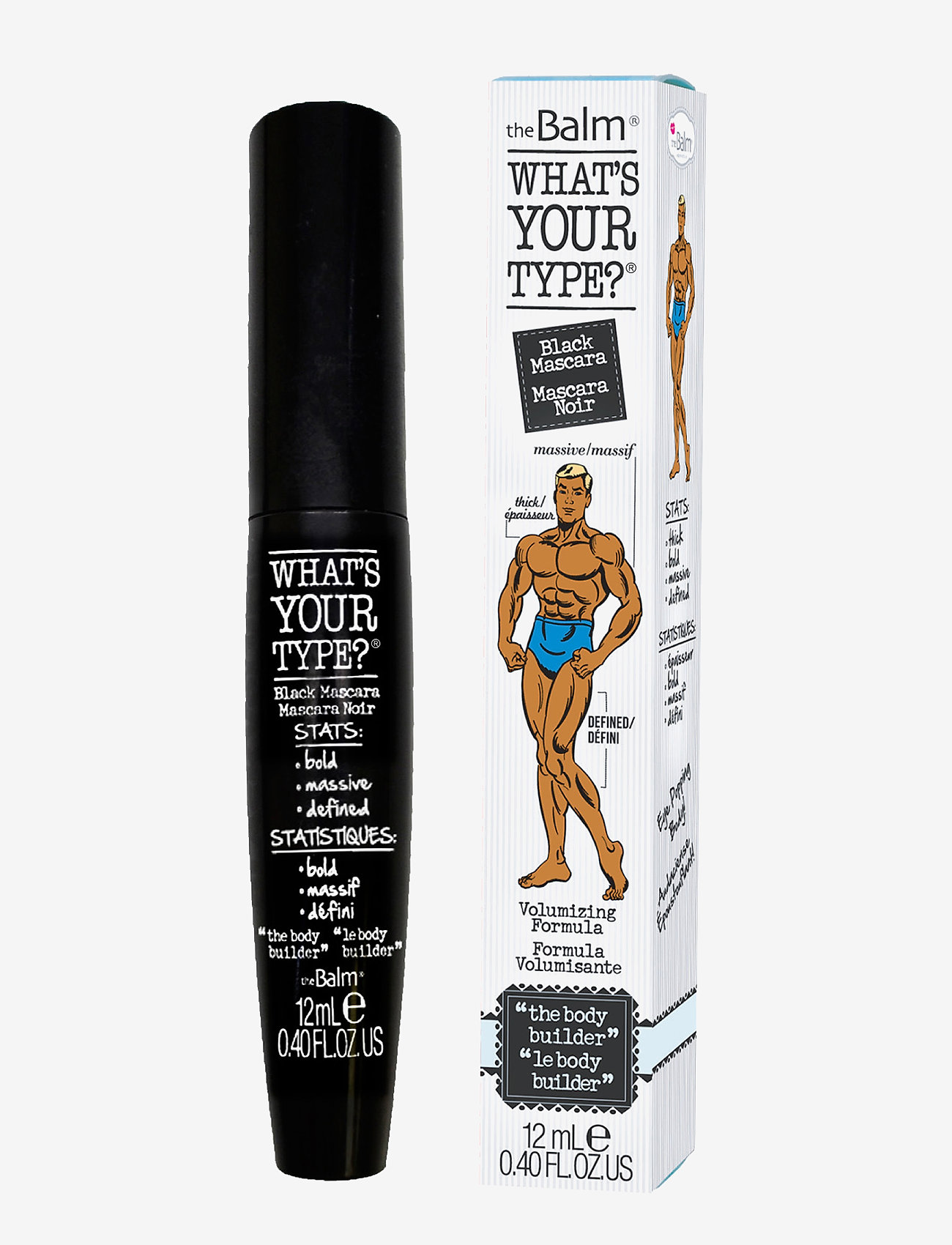"The Balm - WHAT'S YOUR TYPE?® ""the Body Builder"" - ripsiväri - black"