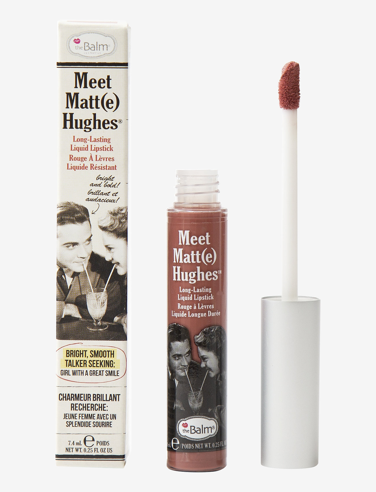 The Balm - Meet Matt(e) Hughes Committed - liquid lipstick - committed - 0