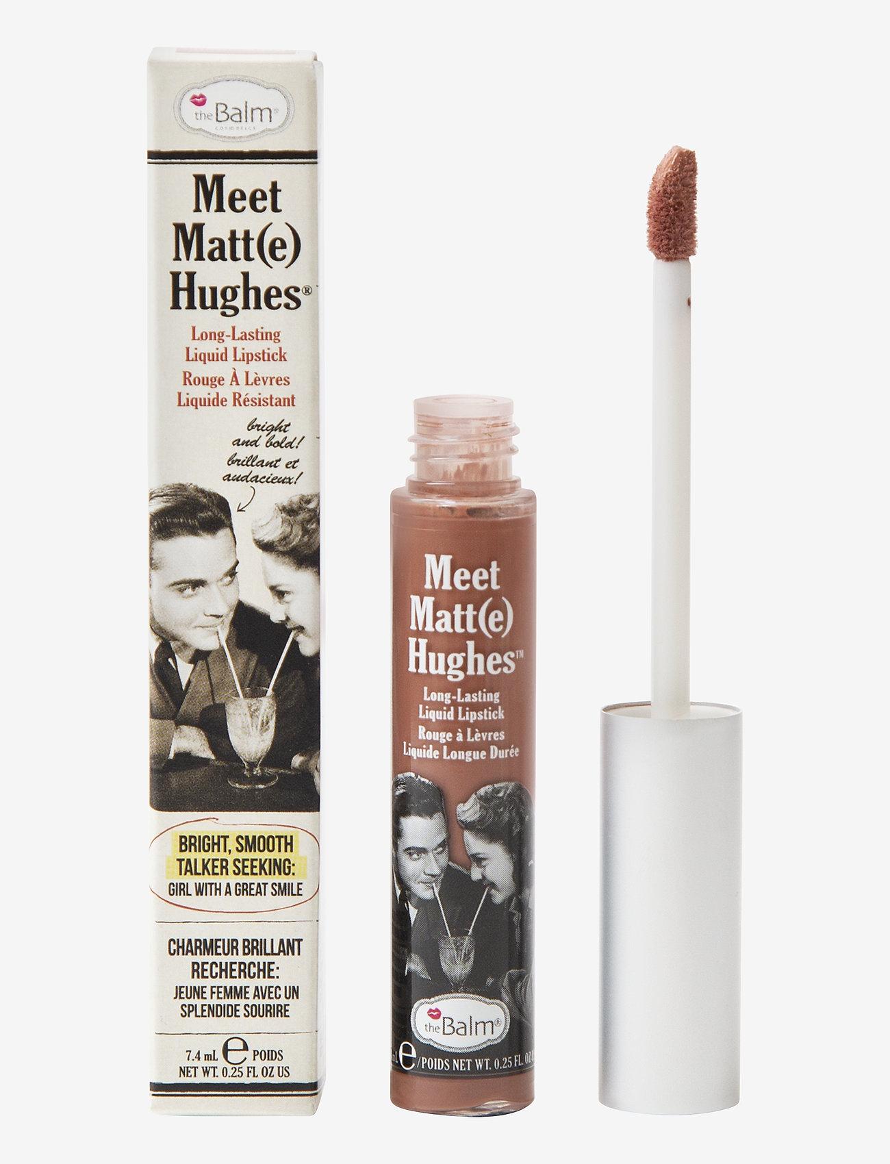 The Balm - Meet Matt(e) Hughes Charismatic - liquid lipstick - charismatic - 0