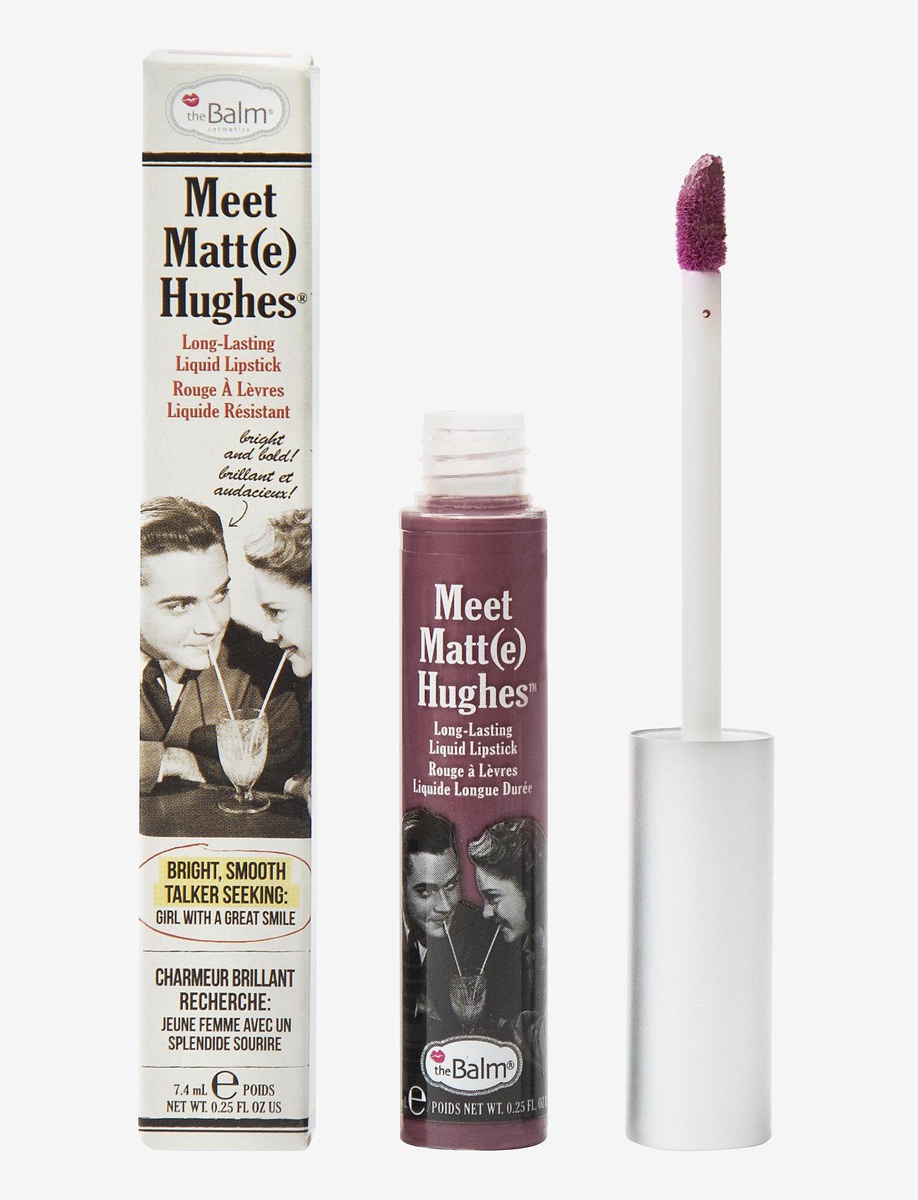 The Balm - Meet Matt(e) Hughes Affectionate - liquid lipstick - affectionate - 0