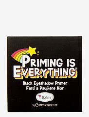 The Balm - PRIMING IS EVERYTHING® Eyeshadow Primer - Ögonprimer - black primer - 2