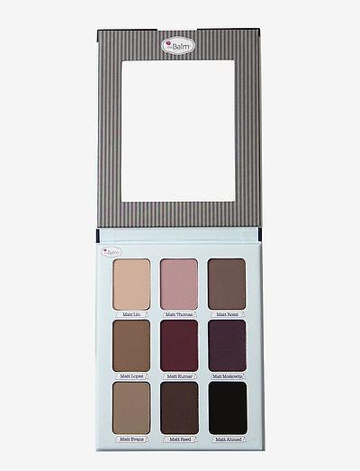 MEET MATT(E) TRIMONY.® Matte Eyeshadow Palette - Øyenskyggepalett - multi