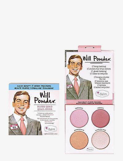 WILL POWDER Quad Cheek Palette - blush - multi color