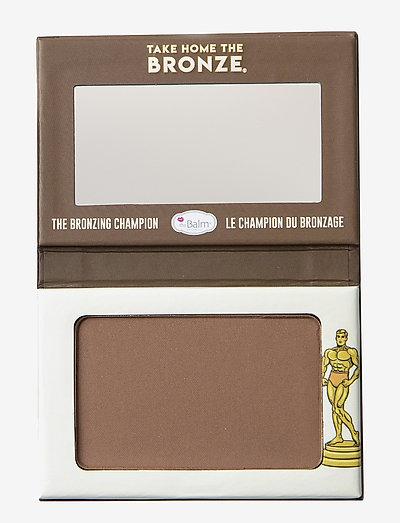 TAKE HOME THE BRONZE® Anti-Orange Bronzer GREG - Dark - bronzer & solpuder - dark bronze
