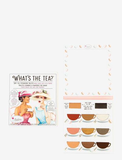 What's the Tea? Hot Tea Eyeshadow Palette - Ögonskuggspalett - hot tea