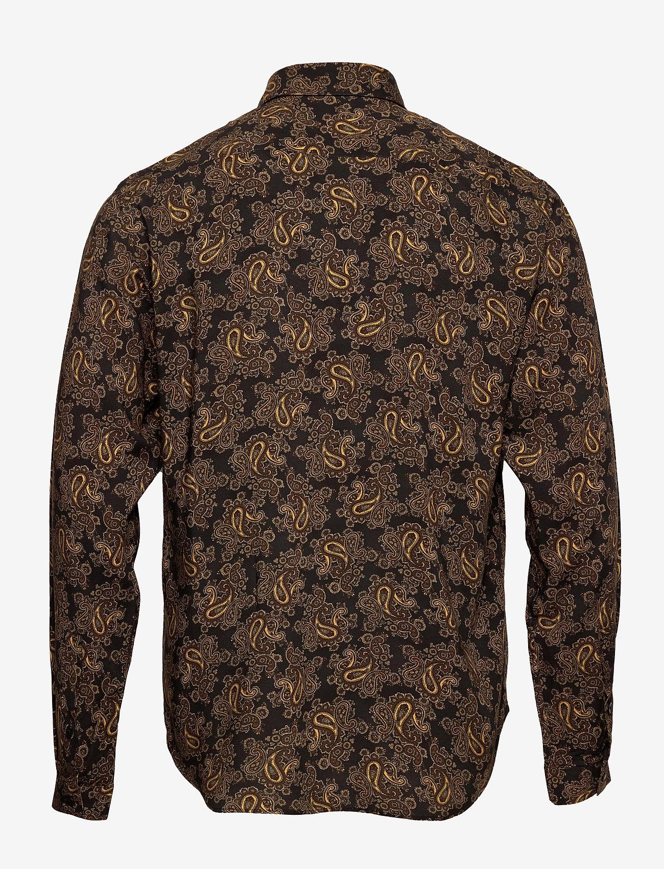 The Kooples CHEMISE - Skjorter - black/gold