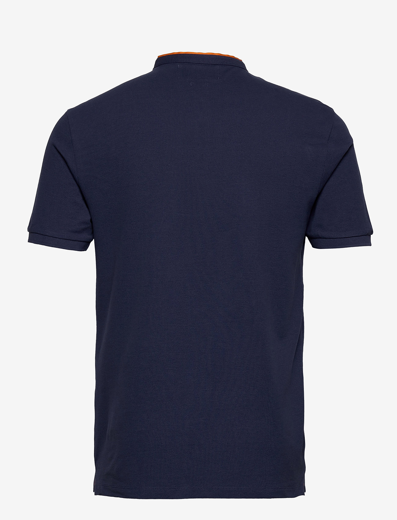 The Kooples POLO HTK - Poloskjorter BLUE/ORANGE - Menn Klær