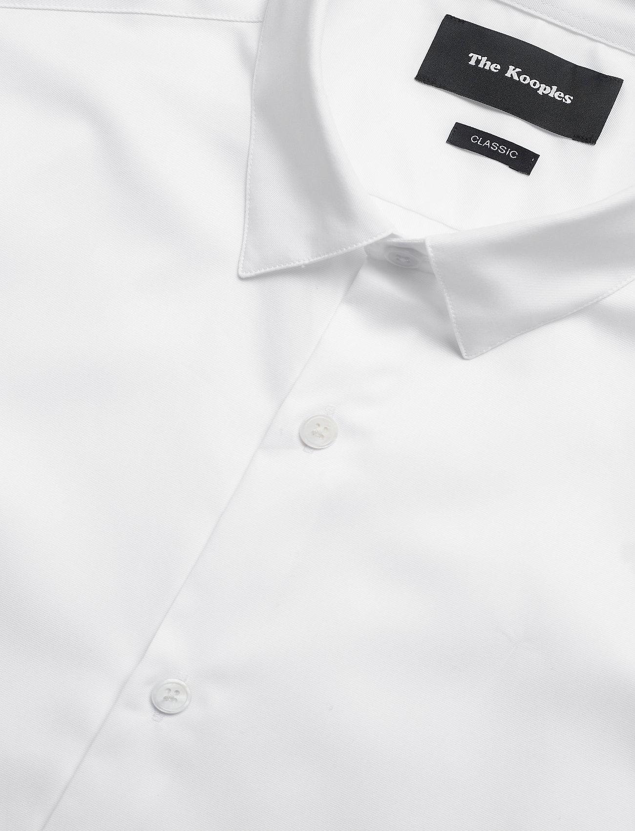 The Kooples CHEMISE - Skjorter WHITE - Menn Klær