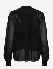 The Kooples - TOP - blouses met lange mouwen - black - 1