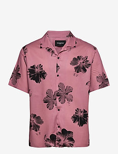 CHEMISE - kortärmade skjortor - pink / black
