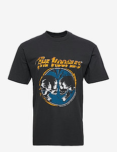 T-SHIRT MC - kortärmade t-shirts - black washed