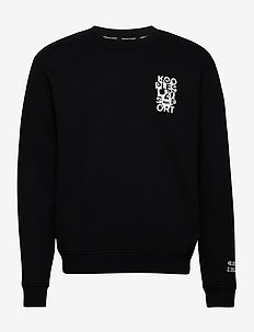 SWEAT - basic-sweatshirts - black