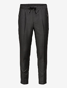 PANTALON SEUL - casual trousers - grey black
