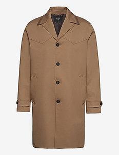 MANTEAU - light coats - beige