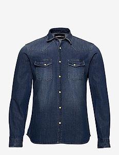 CHEMISE - podstawowe koszulki - blue