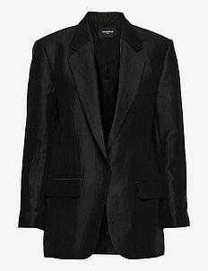 VESTE - oversized blazers - black
