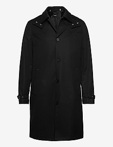 MANTEAU - trenchcoats - black