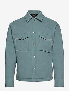 BLOUSON - wool jackets - blue rince