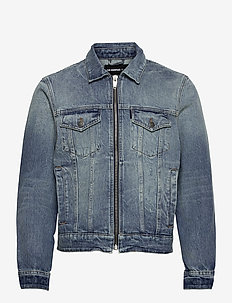 BLOUSON - spijkerjassen - vintage blue