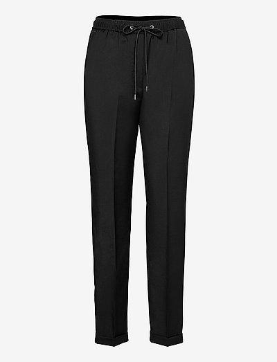 PANTALON COSTUM - straight leg hosen - black