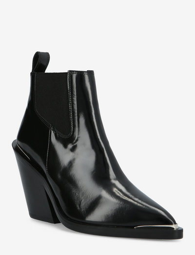CHAUSSURES - heeled ankle boots - black