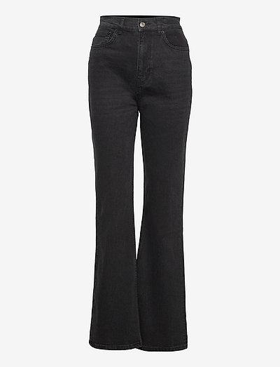 JEAN - straight jeans - black denim