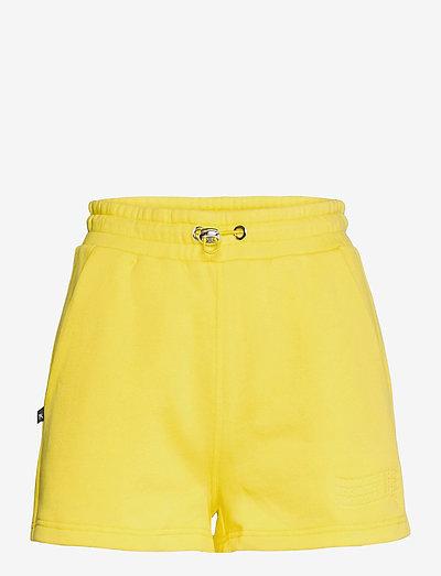 SHORT - casual korte broeken - yellow