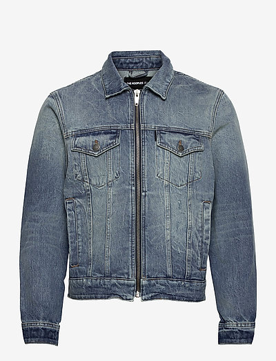 BLOUSON - denim jackets - vintage blue