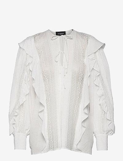 TOP - blouses met lange mouwen - ecru