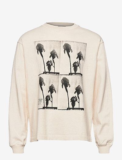 T-SHIRT - långärmade t-shirts - off white