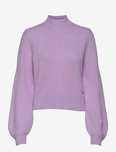 PULL - truien - purple