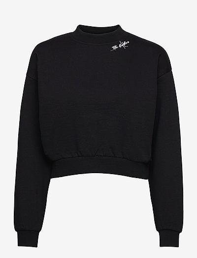 SWEAT - sweatshirts en hoodies - black