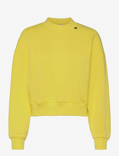 SWEAT - sweatshirts en hoodies - yellow