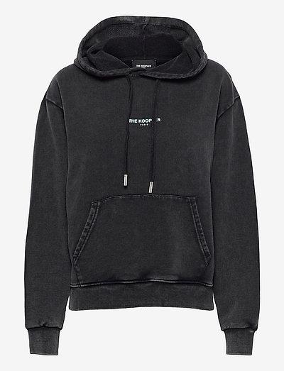 SWEAT - sweatshirts & hoodies - black washed