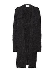 5066 - Marta Cardigan Long - CHARCOAL