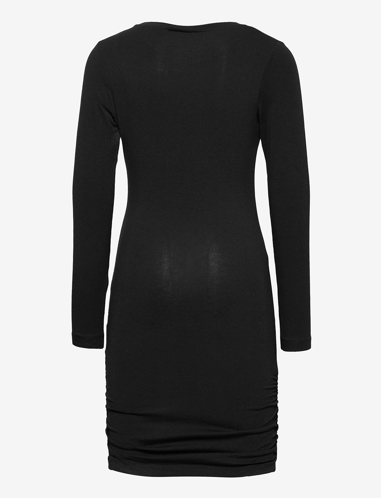 The New - BASIC L_S DRESS NOOS SUSTAINABLE - kleider - black - 1