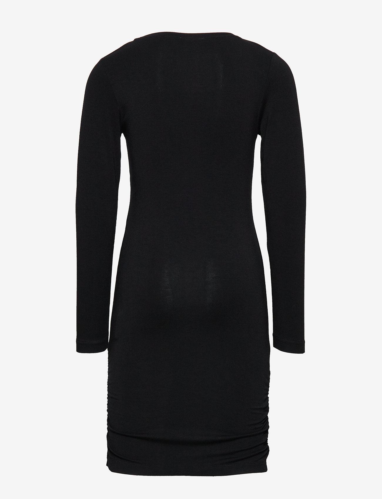 The New - ANUKA L_S DRESS - kleider - black - 1