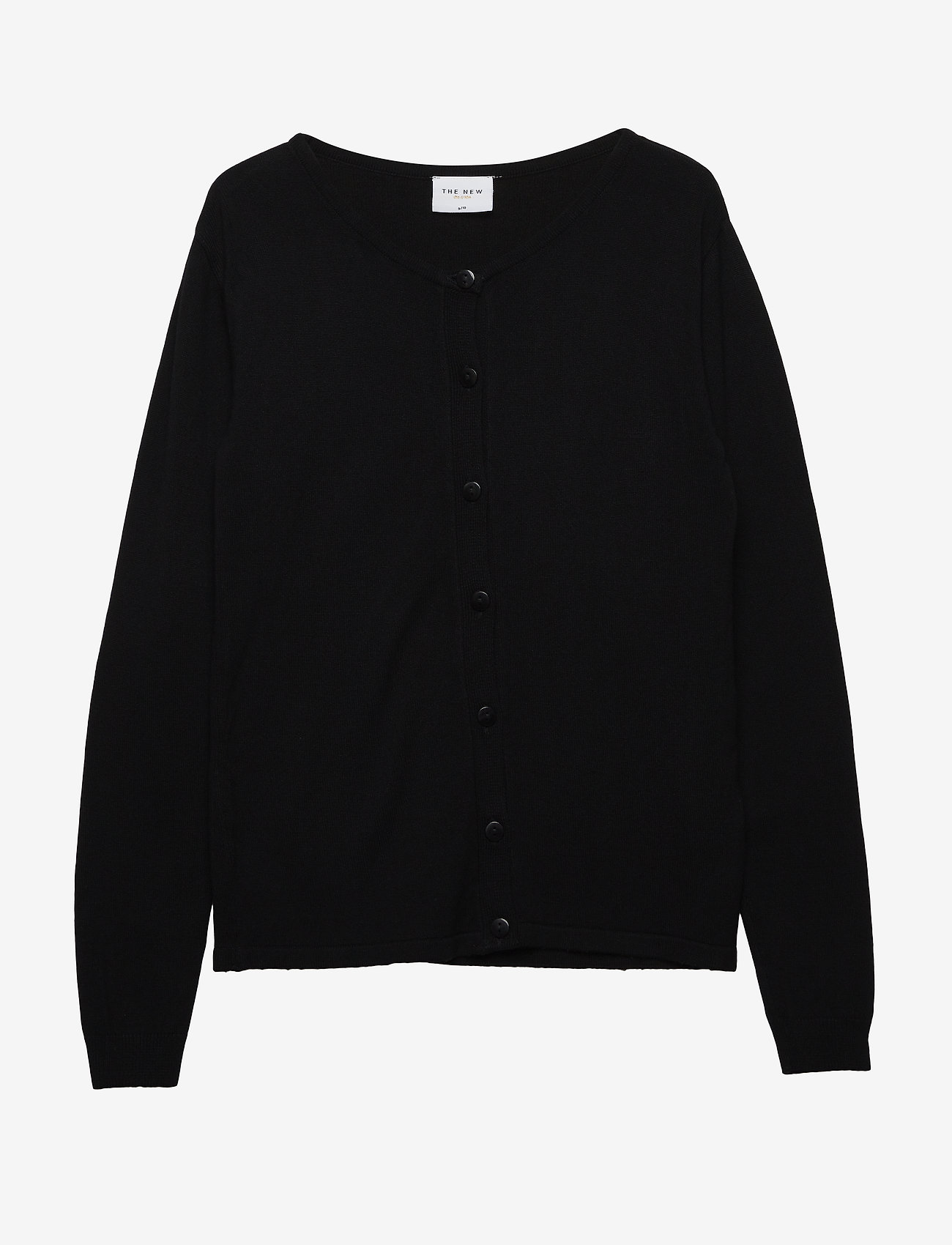 The New - THE NEW BASIC KNIT CARDIGAN - gilets - black - 0