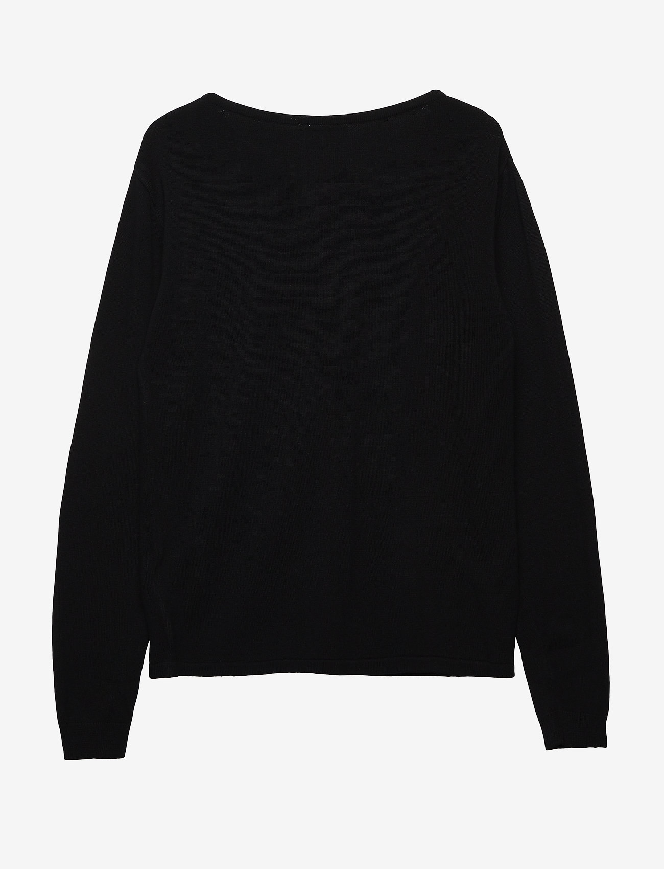 The New - THE NEW BASIC KNIT CARDIGAN - gilets - black - 1
