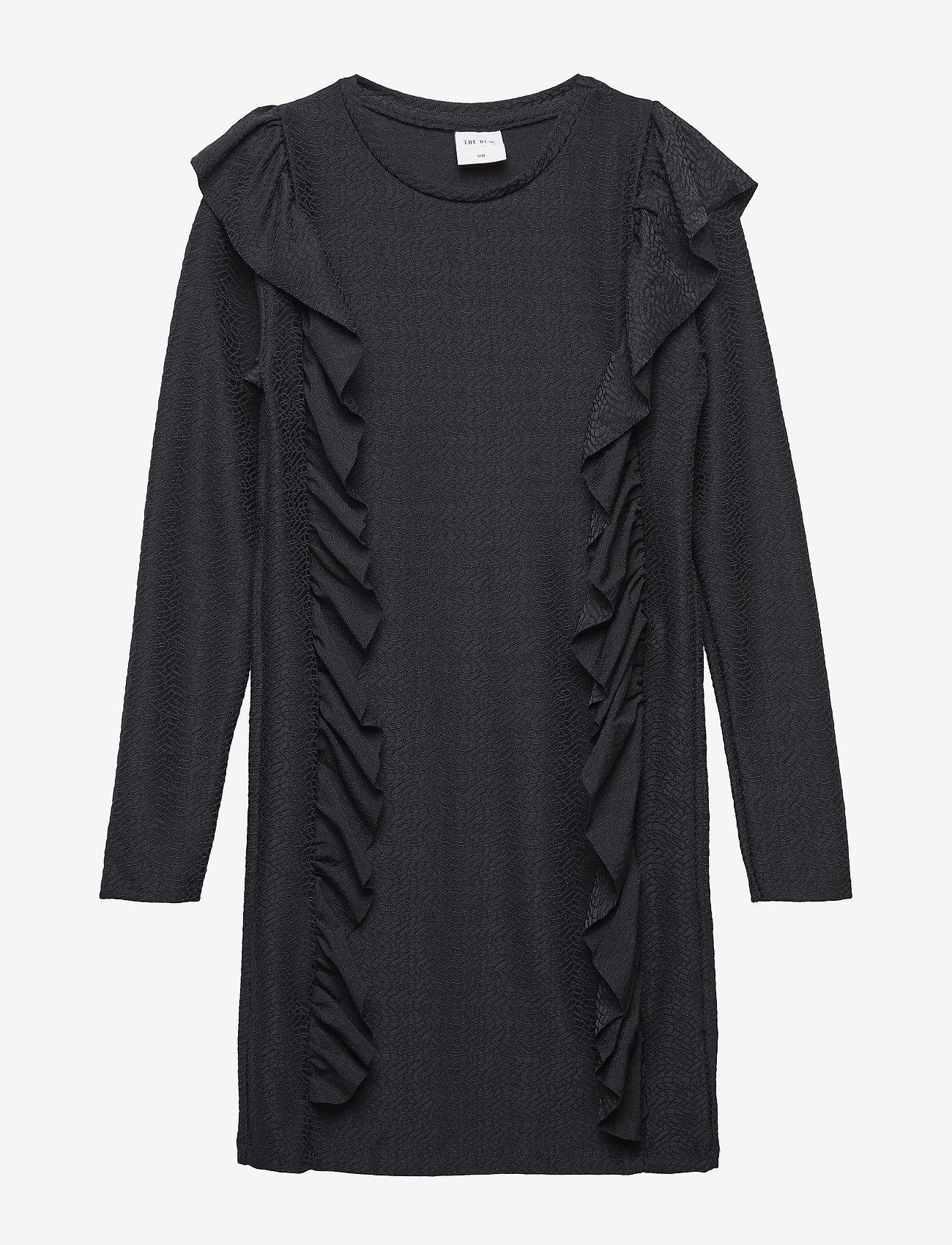 The New - IDA L_S DRESS - robes - black iris - 0