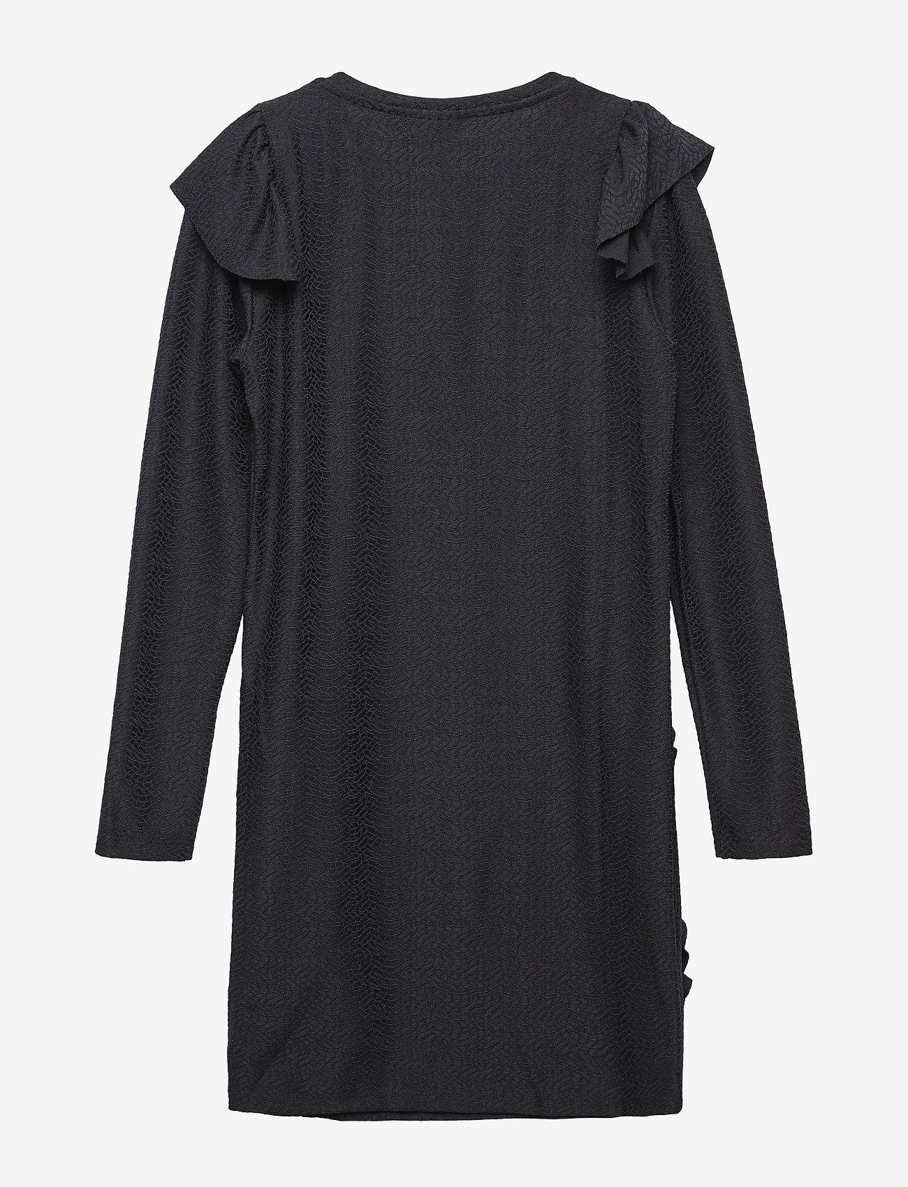 The New - IDA L_S DRESS - robes - black iris - 1