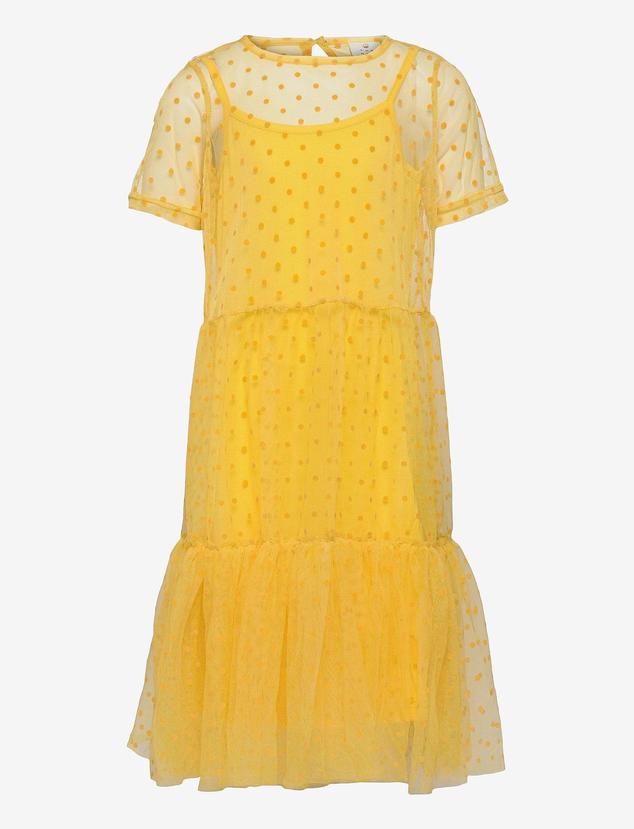 The New - UMA TWIST DRESS - kleider - primrose yellow - 0