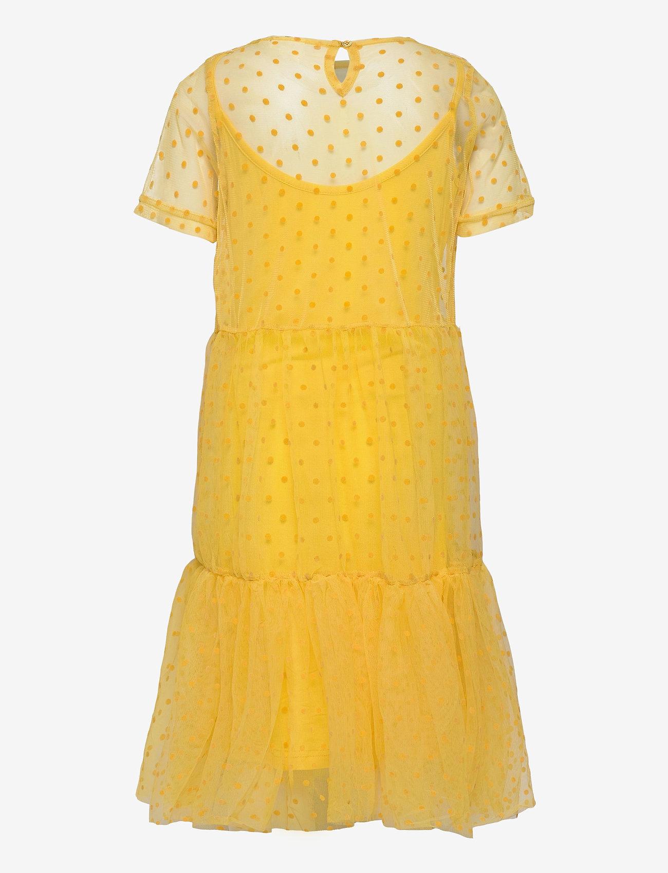 The New - UMA TWIST DRESS - kleider - primrose yellow - 1