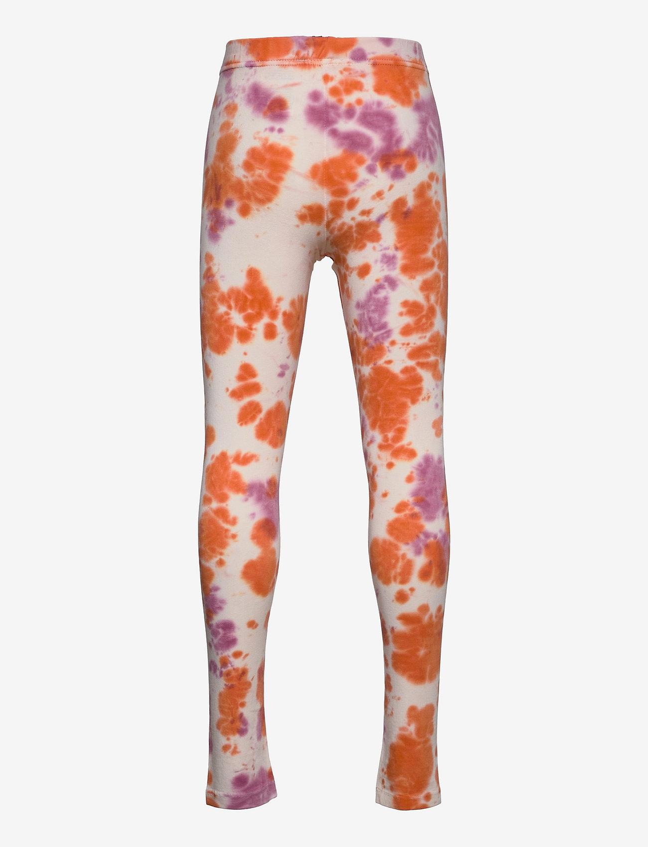 The New - TRILLE TIE DYE LEGGINGS - leggings - nectarine - 1
